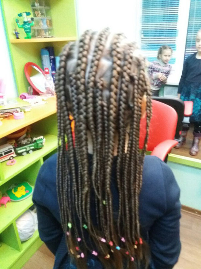 Фото работ парикмахерской детского клуба Смайлик (24)