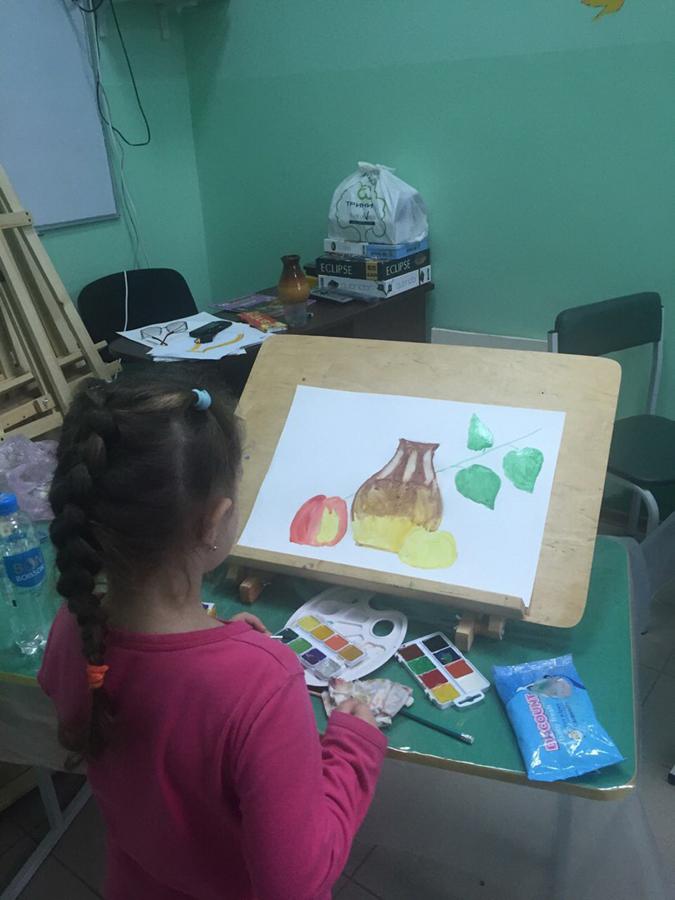 Художественная студия в детском клубе Смайлик (1)