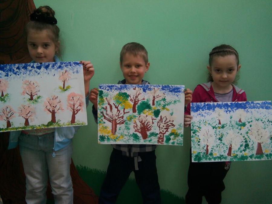 Художественная студия в детском клубе Смайлик (10)