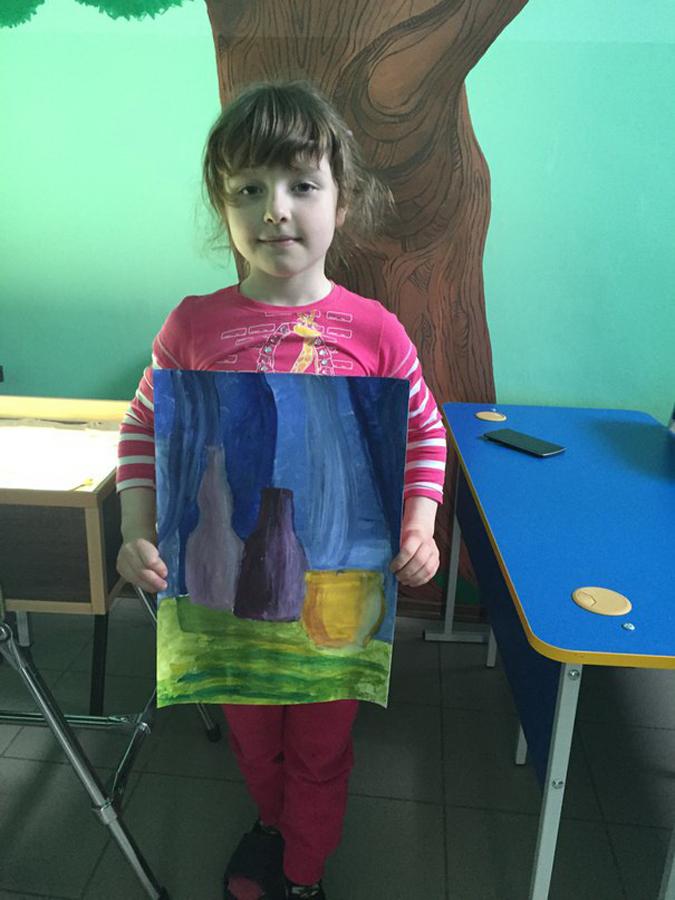 Художественная студия в детском клубе Смайлик (11)