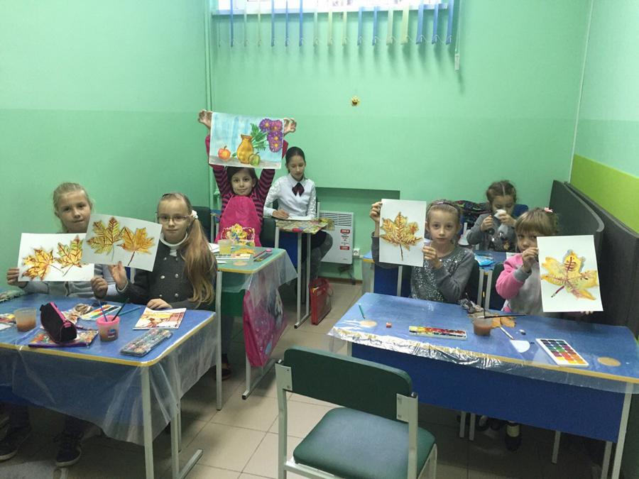 Художественная студия в детском клубе Смайлик (13)