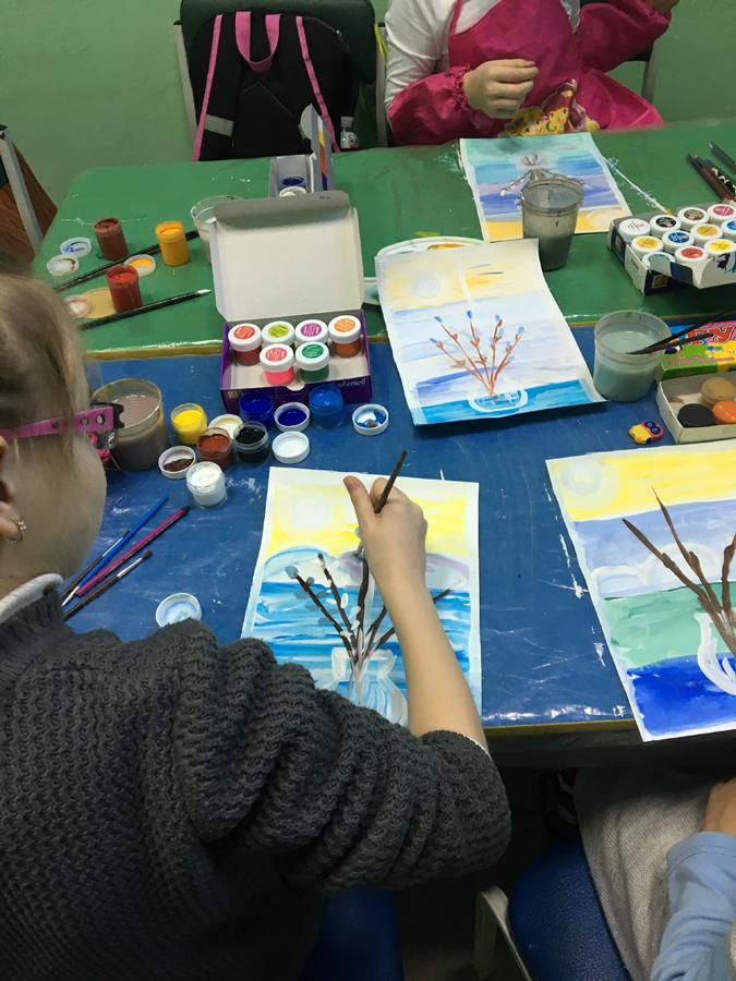 Художественная студия в детском клубе Смайлик (3)