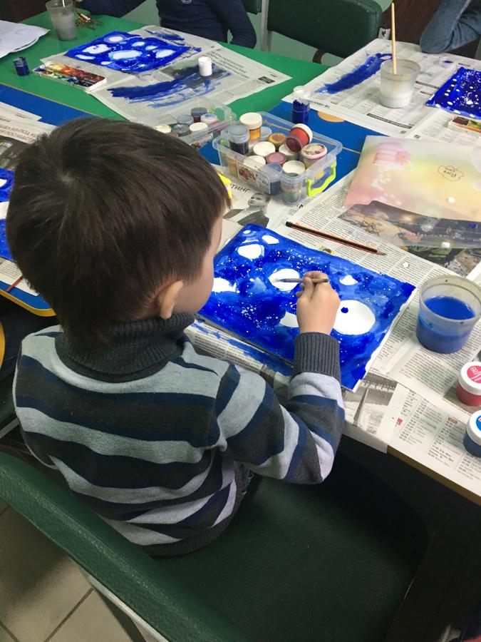 Художественная студия в детском клубе Смайлик (6)