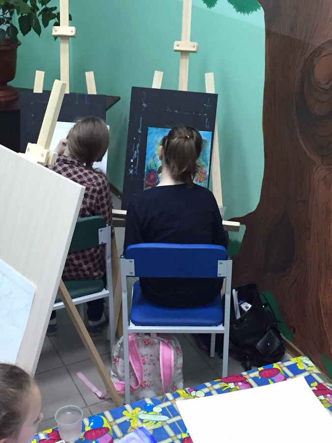 Художественная студия в детском клубе Смайлик (7)