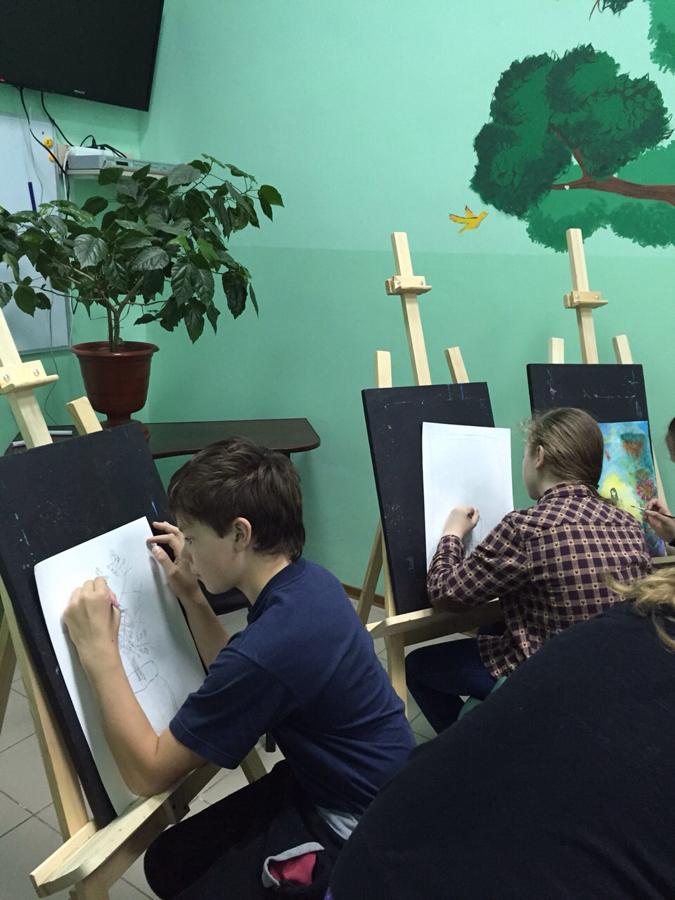 Художественная студия в детском клубе Смайлик (9)