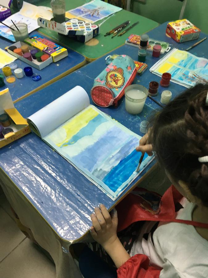 Художественная студия в детском клубе Смайлик (4)